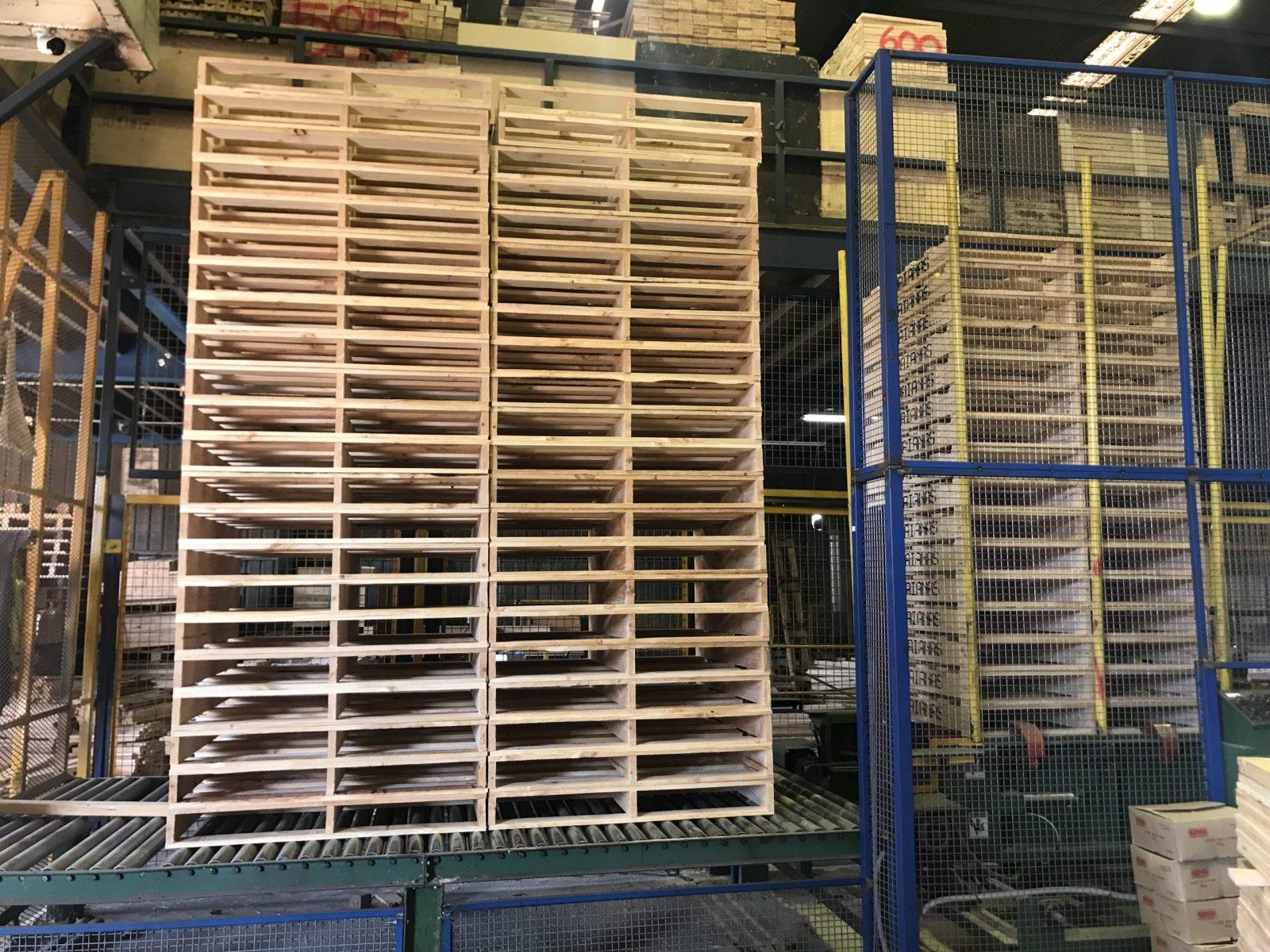 Timber Pallet Rack